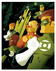 green lantern corps commission by strongstuff