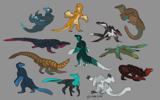 Sovos movement sketches by Sarspax