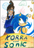 Sonic and korra by zavraan