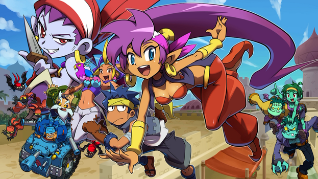 Shantae and the Pirate's Curse Wallpaper - Default by MasterRafalPL