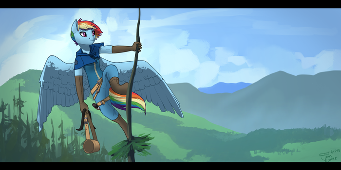 Scouting Out by Joan-Grace