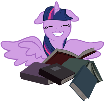 Twilight with a big grin by Tardifice