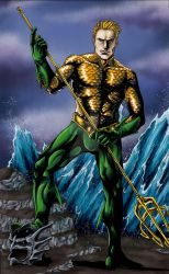 Aquaman: King of the Seas Colored by QuackingRussians