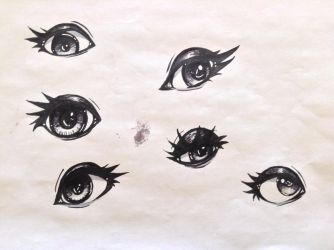 Eye Study by LizzyBunny1