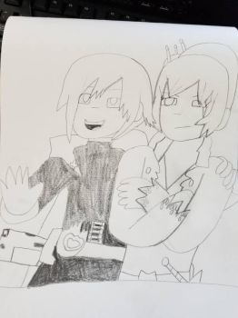 Ruby and Weiss by SmoothCriminalGirl16