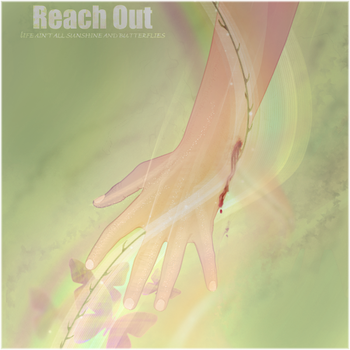 Reach Out by Serenity4art