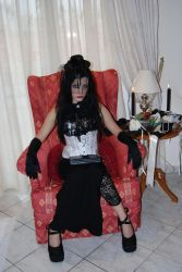 Goth Girl 4 by ftourini-stock