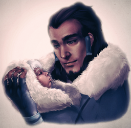 Father and Daughter by AnimantX