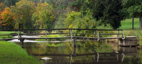 Old Wood Bridge - I by photorip