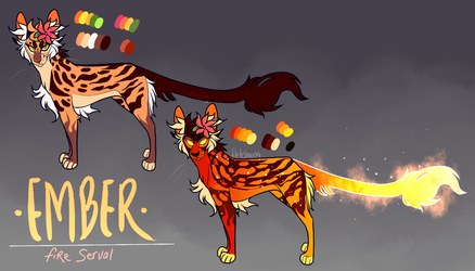 [ADOPT ME! -- PRICE LOWERED] Ember by FletchIing