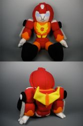 G1 Hotrod Plushie by WhittyKitty