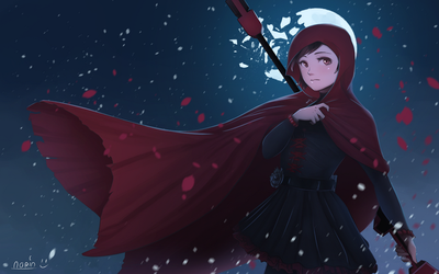 Red like roses (RWBY fan art) by NRA1447