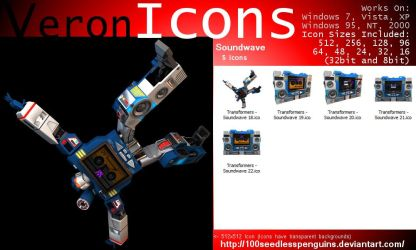 VIcons - Soundwave by 100SeedlessPenguins