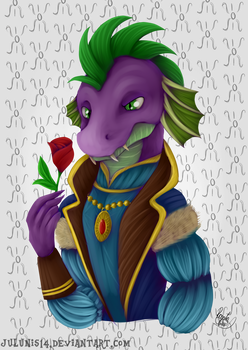 Love Letter - Spike as Baron by Julunis14