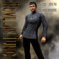 Romulan Uniform Textures for M4 Valiant by mylochka