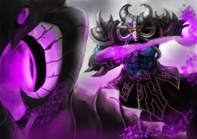 League of Legends: Kassadin VS Vel Koz by Frost7