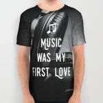 Music was my first Love, by Purshue