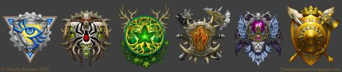 Faction Crests by GoldenDaniel