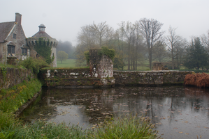 DSC09854 Scotney Castle  In The Rain by wintersmagicstock