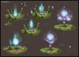 Mystical Lightsource Concept 1 by AlexanderExorcist