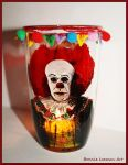 Pennywise Clown Candle Holder by Bonniemarie