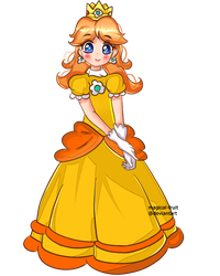 Princess Daisy by magical-fruit