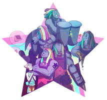 Bismuth in all shades by Lorsenal