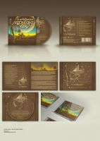 Album cover CD booklet by dronograph