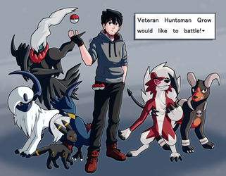 Pokemon Trainer Qrow by AttackGoose