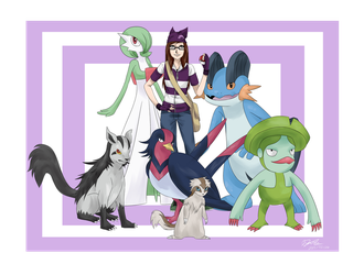 Hoenn League Champion by JoTehDemonicPickle