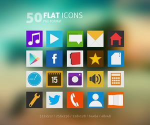 Flat Icons Pack by Martz90