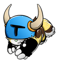 Speed Paint | Shovel knight Icon by FoxeeTreasures