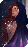 Commission:Tarot Card The Stars(2) by AlexielApril