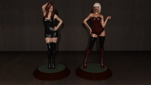 College Mannequin:  Figurine Finale by CaptianHarlock