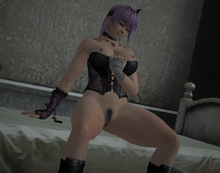 AYANE: 'Spend this horrible night with me...' by DarkOverlord1296