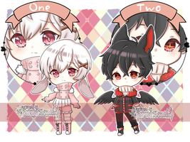 [CLOSED] Set Price Kemonomimi Shota Batch #1 by HarueRaiko