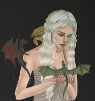 MOTHER OF DRAGONS by MarissaChristina