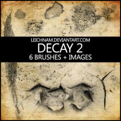 Decay Brushes 2 by Leichnam