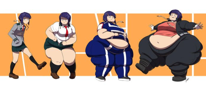PLUS SIZE ULTRA: Kyouka Jirou by Jeetdoh