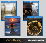 Lord of The Rings Folder Icon Pack (Blu-ray) by MovieIconMan