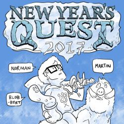 New Year's Quest 2017 by SquidMantis