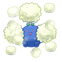 :Jumpluff used Cotton Spore: by MeguBunnii