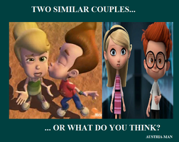 Two similar Couples? by Austria-Man