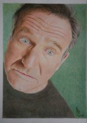 Robin Williams (Polichromatic Pencils) 2018 by 113MB
