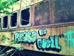 Abandoned Train: Please Be Well by TemariAtaje