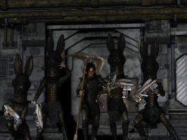 Warriors Of Hata by 3dcheapskate