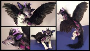 Jacob Dragon Poseable Art Doll by Blazesnbreezes