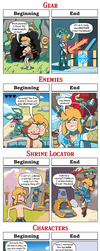 DORKLY: Breath of the Wild - Beginning VS. End by GeorgeRottkamp