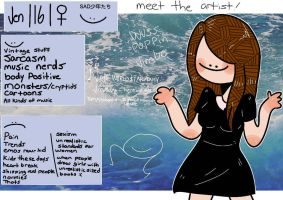 Meet The Artist by aesthetic-loser