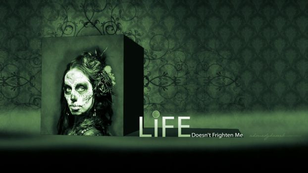 life doesn't frighten me by ahmed7